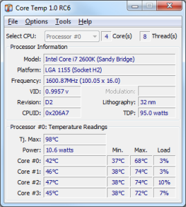 Program Core Temp